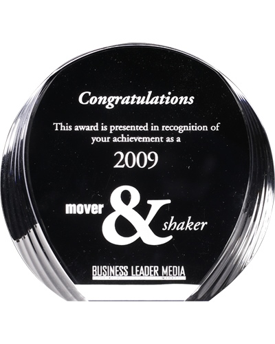 Image, The Mover & Shaker Award by Business Leader Media - 2009