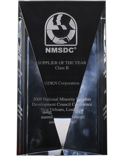 Image, Supplier of the Year by National Minority Supplier Development Council - 2009