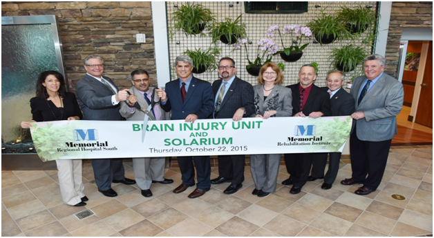 Opening  of Brain Injury Unit and Solarium – Memorial Rehabilitation Institute image