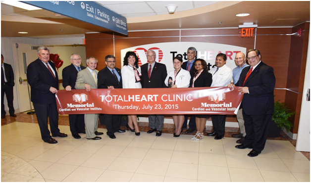 Opening of Total Heart Clinic – Memorial Cardiac and Vascular Institute image